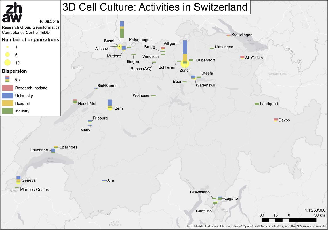 3d Cell Culture: Activities in Switzerland