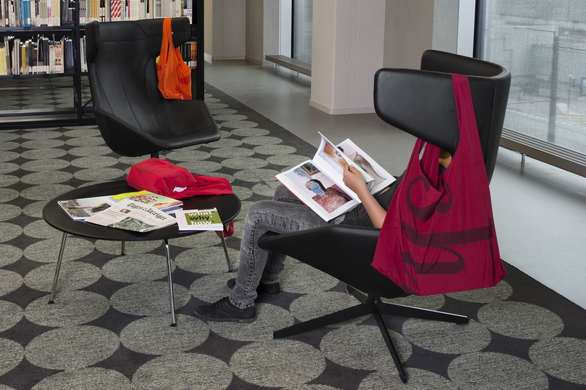 Armchairs In The University Library Zurich