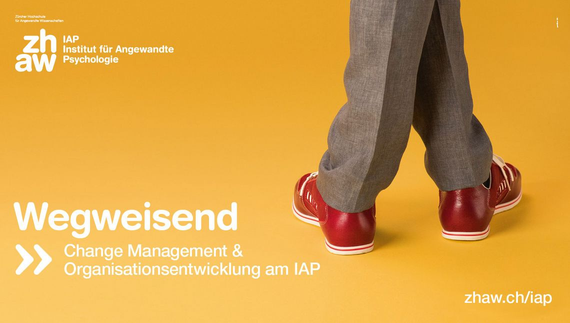 IAP Kampagnensujet Change Management