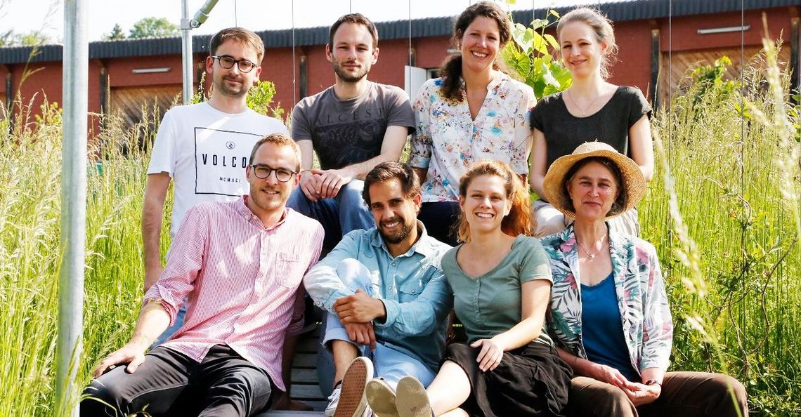 Team-Foto der Forschungsgruppe Geography of Food