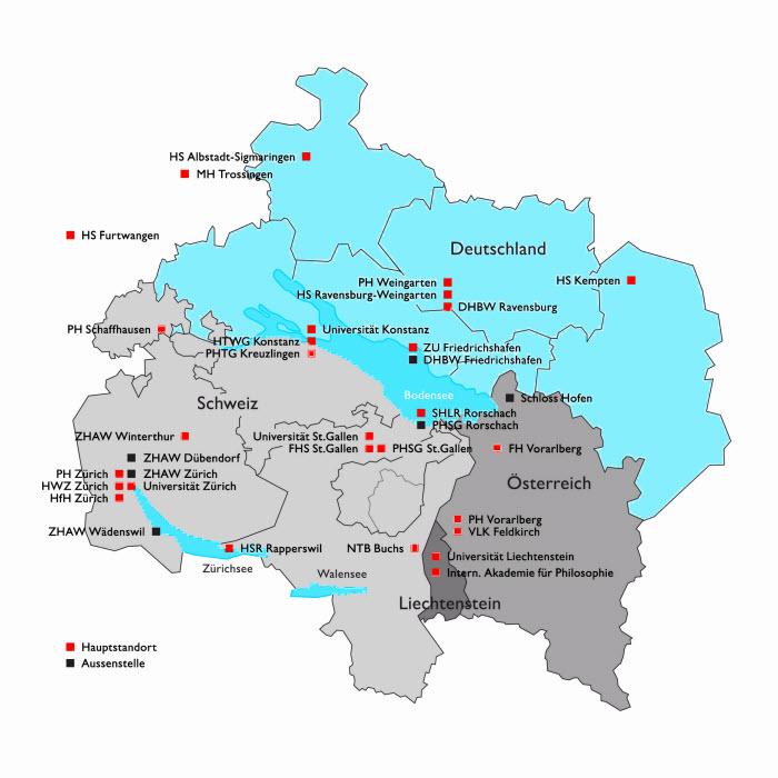 Bodensee Karte Schweiz.E Destination Bodensee Zhaw Institut Fur Nachhaltige