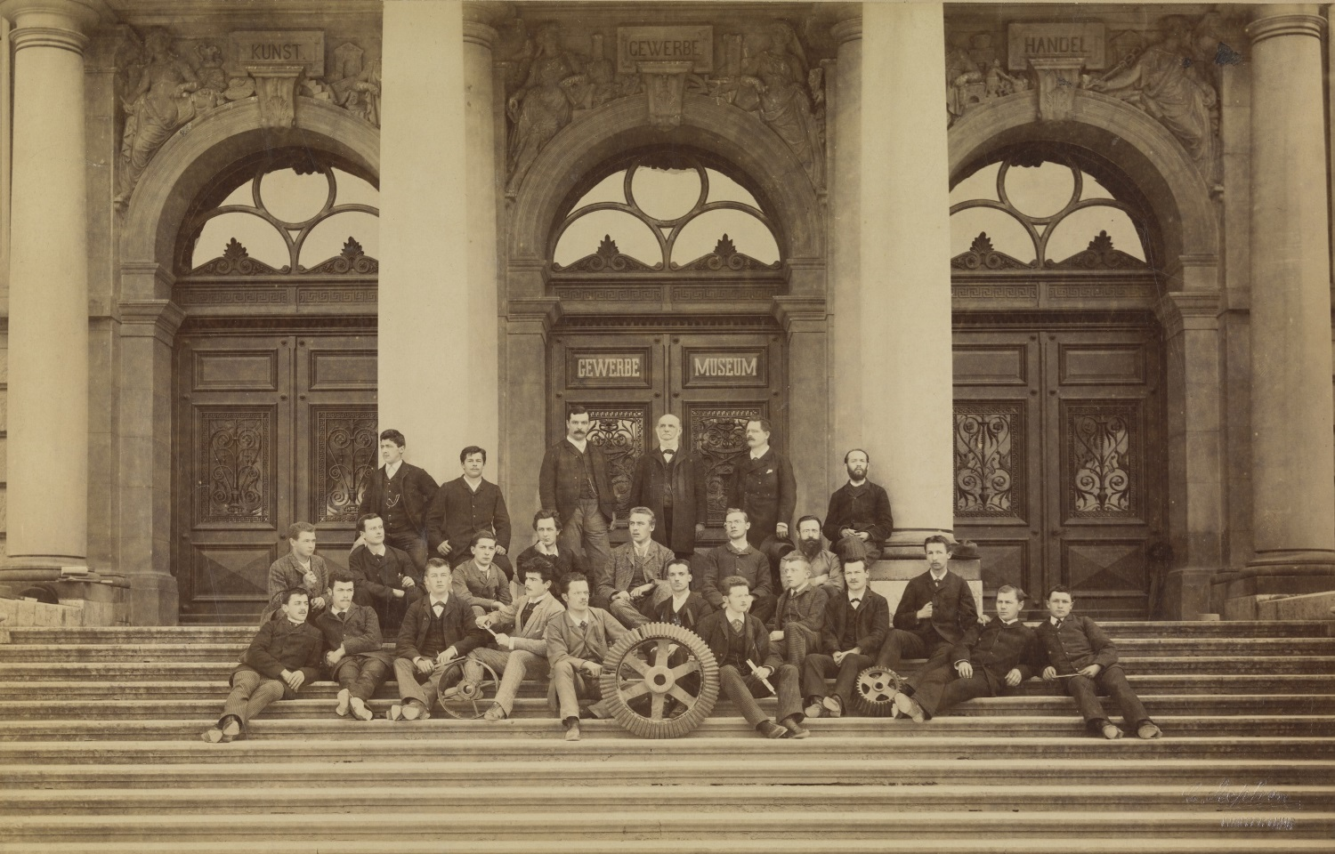 Graduating class, Mechanical Engineering 1892