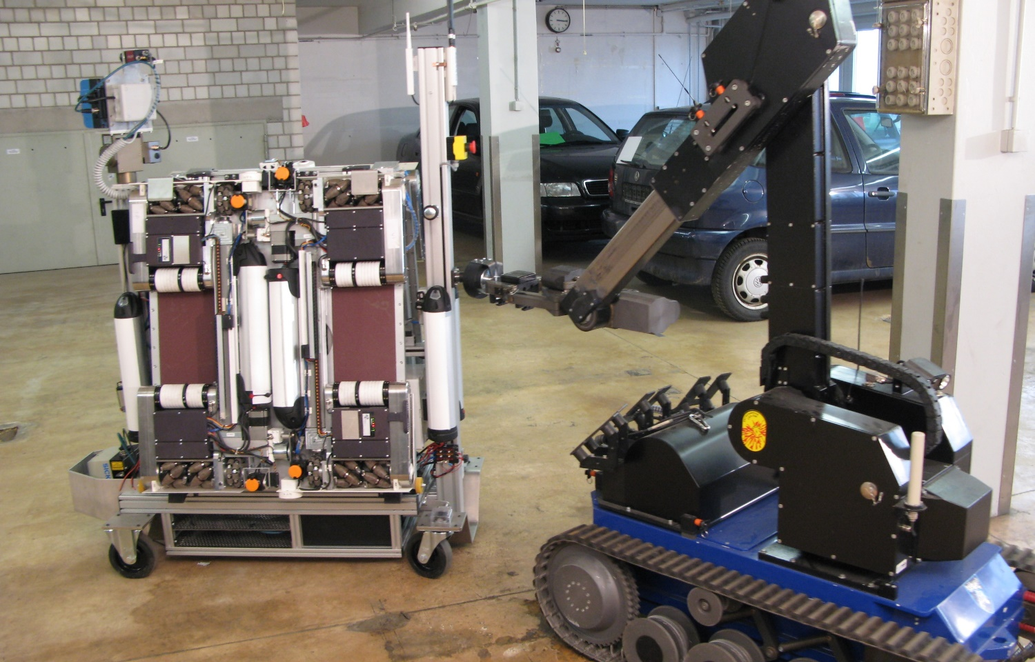 AVERT - Robots increase safety for bomb squads