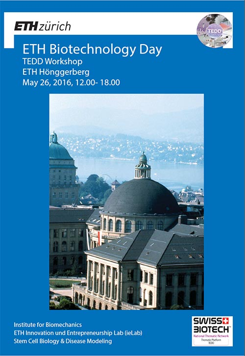 Flyer cover ETH Biotechnology Day