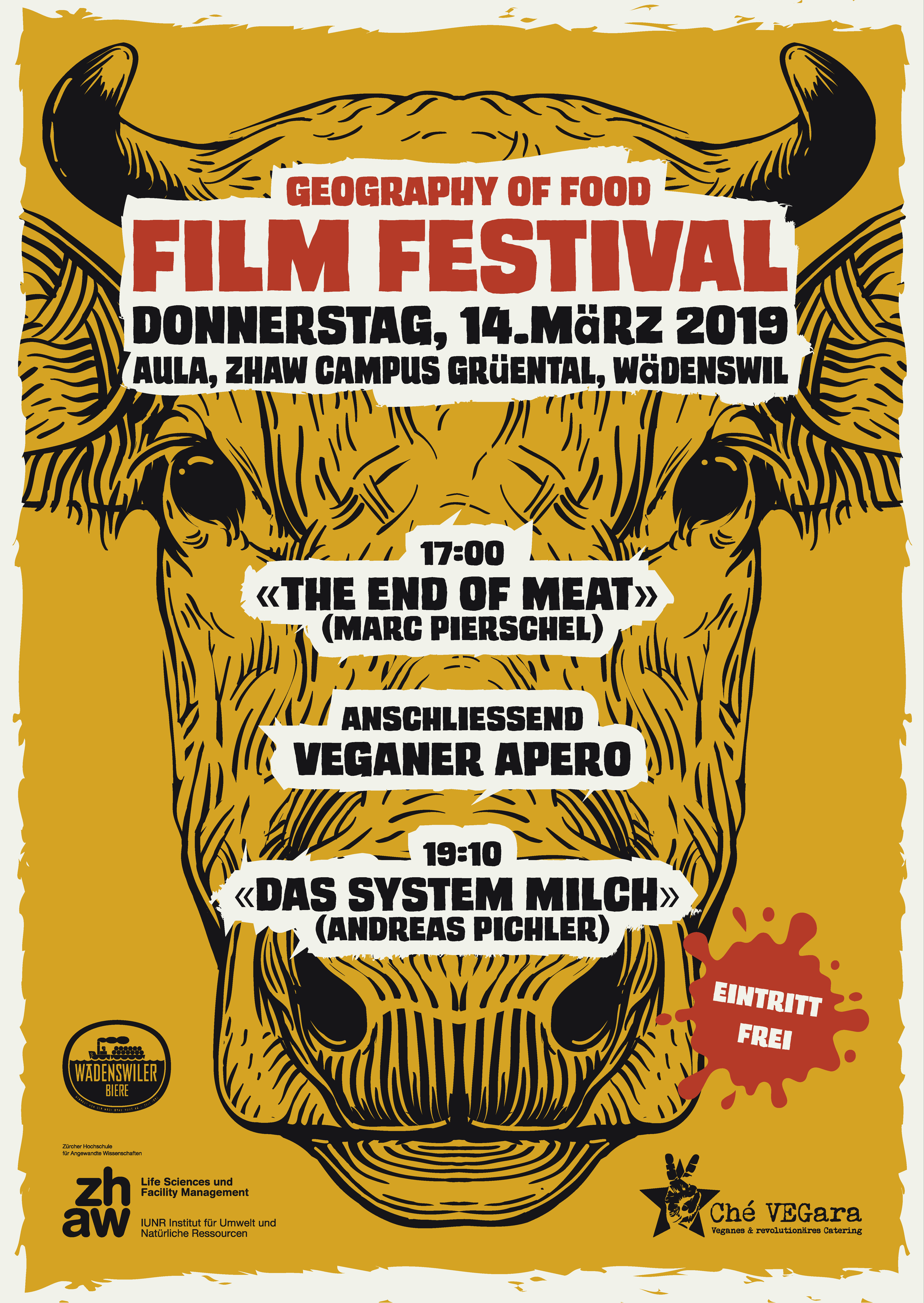 Geography of Food Film Festival 2019 Flyer