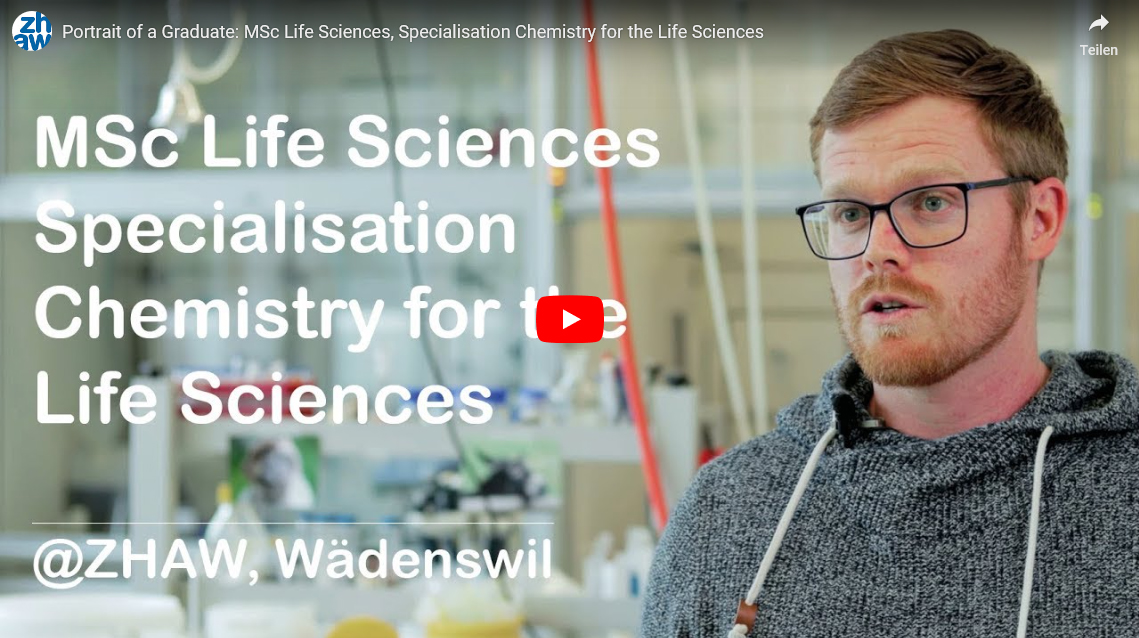 Master of Science in Life Sciences - Chemistry for the Life Sciences