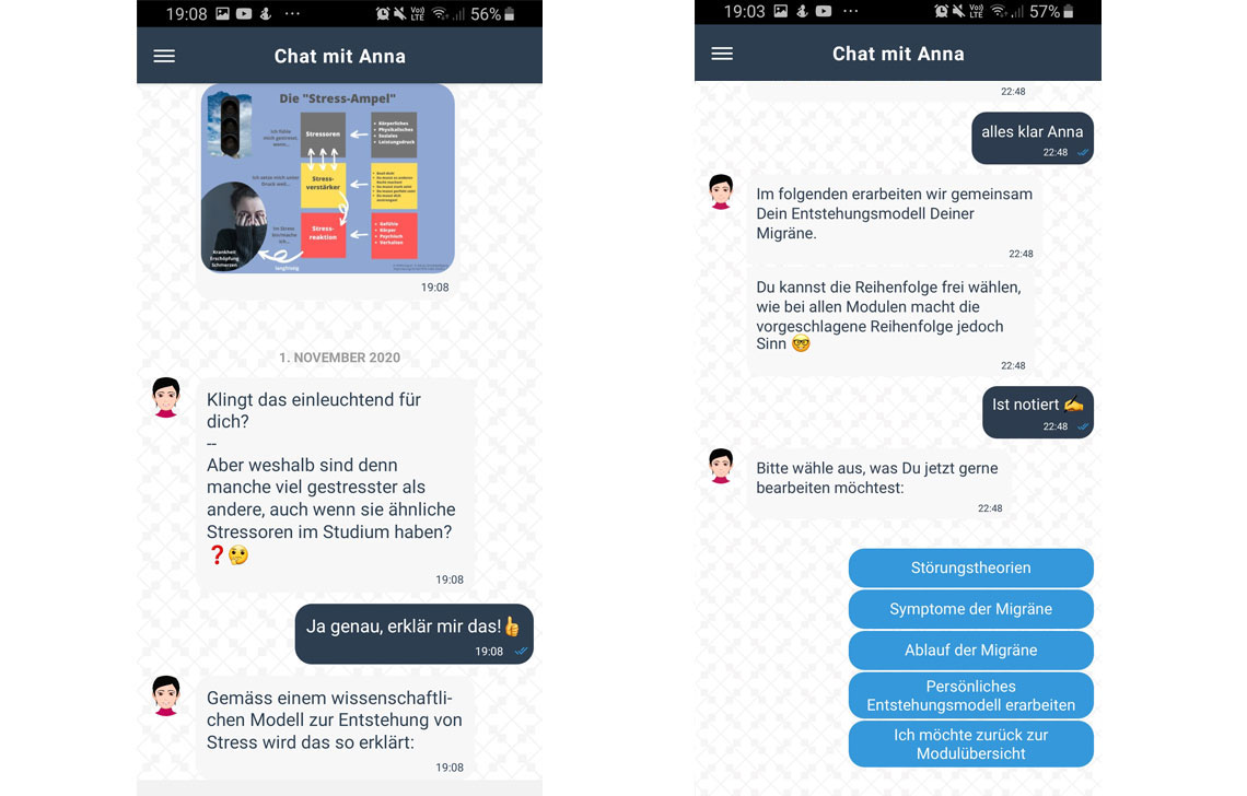 Chatbot Mobile-Coach