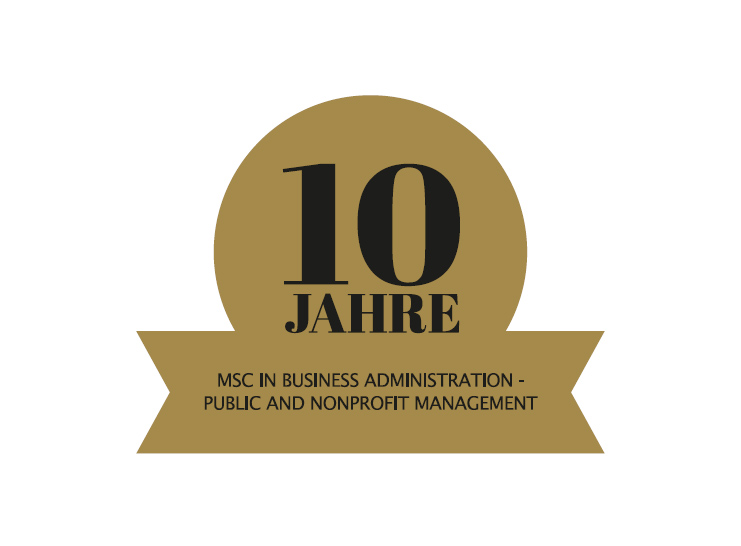 10 Jahre MSc in Business Administration - Public and Nonprofit Management